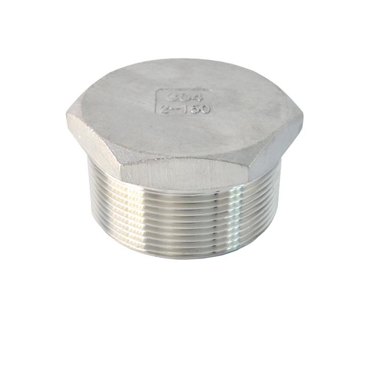 不锈钢管件-六角管塞